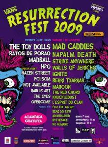 Resurrection Fest Estrella Galicia 2022. (29 - 3 Julio) Avenged Sevenfold, KoRn, Deftones, Sabaton y Bourbon! Resurrection-Fest-2009-220x300