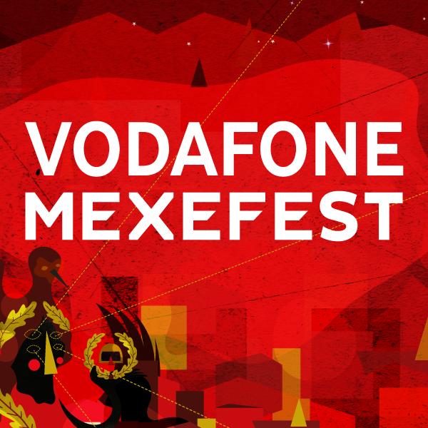 Logo Vodafone Mexefest 2016