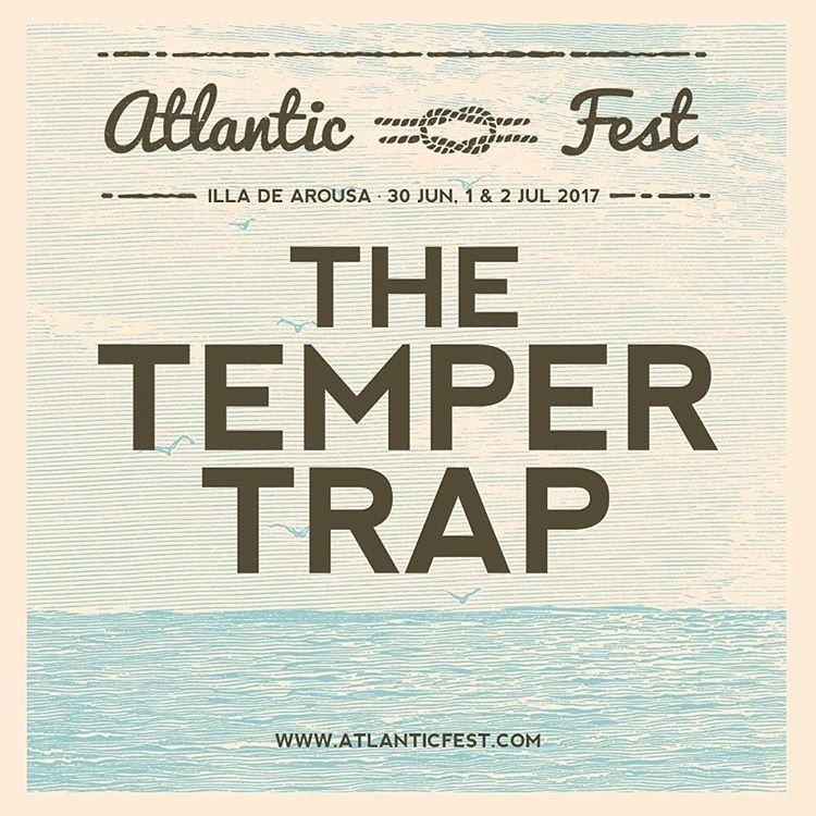 The Temper Trap, al Atlantic Fest 2017