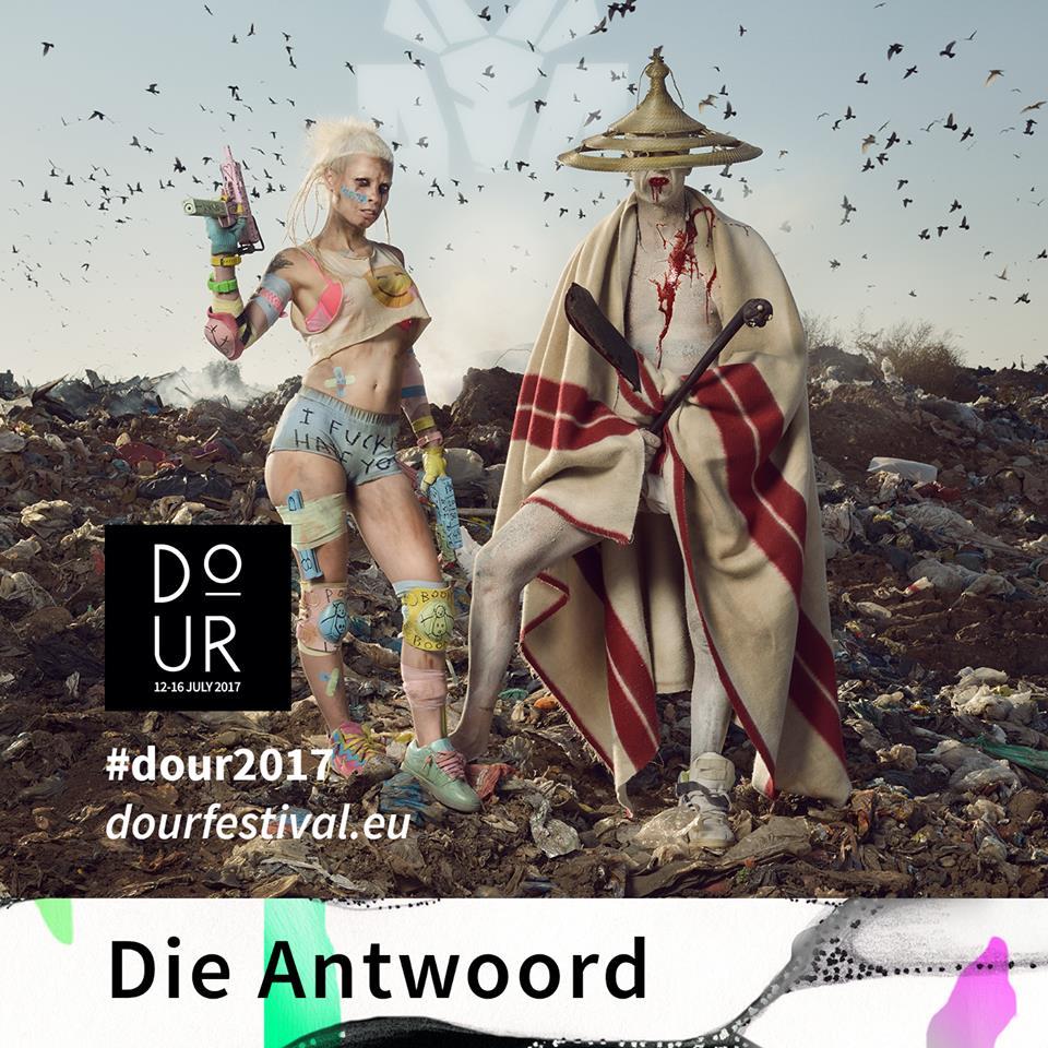 Die Antwoord, primer nombre del Dour Festival 2017