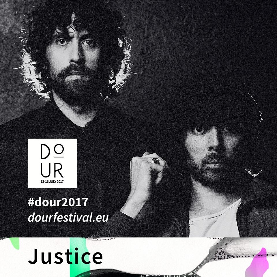 Justice, al Dour Festival 2017
