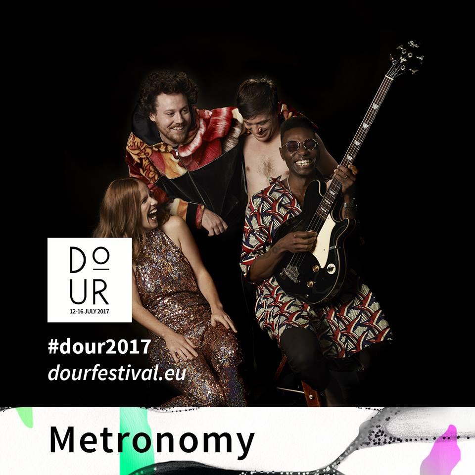 Metronomy, al Dour Festival 2017