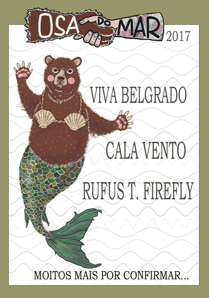 Cartel hasta el momento del Osa do Mar 2017