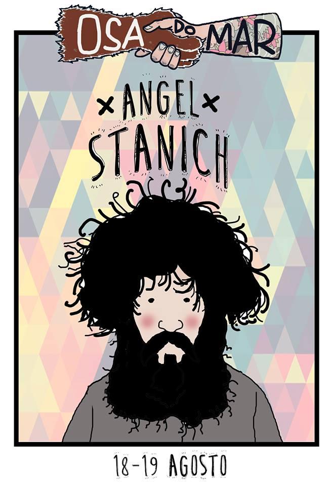 Ángel Stanich, al Osa do Mar 2017