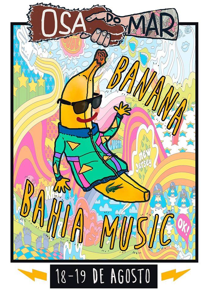 Banana Bahia Music, confirmados para el Osa do Mar 2017