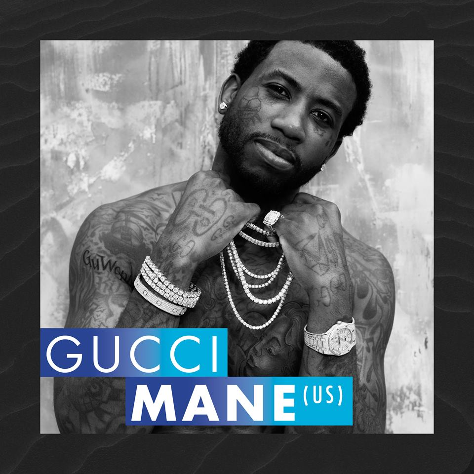 Gucci Mane, al Slottsfjell 2017