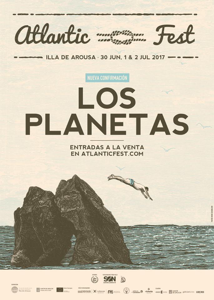 Los Planetas, al Atlantic Fest 2017