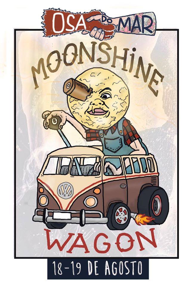 Moonshine Wagon, al Osa do Mar 2017