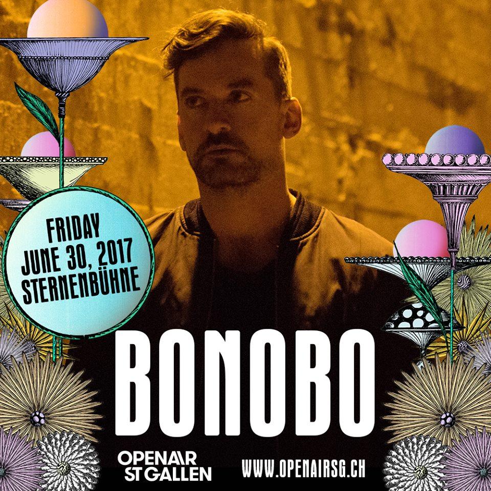 Bonobo, al OpenAir St.Gallen 2017
