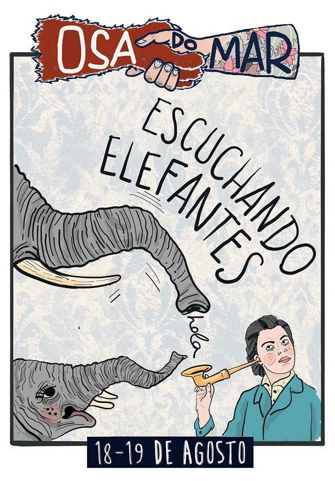 Escuchando Elefantes, confirmados para el Osa do Mar 2017