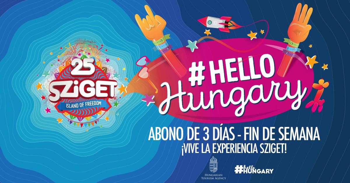 Abonos de 3 días #HelloHungary