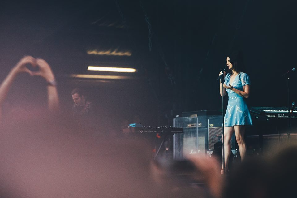 Lana Del Rey, Lollapalooza París 2017 - Foto de Nicko Guihal