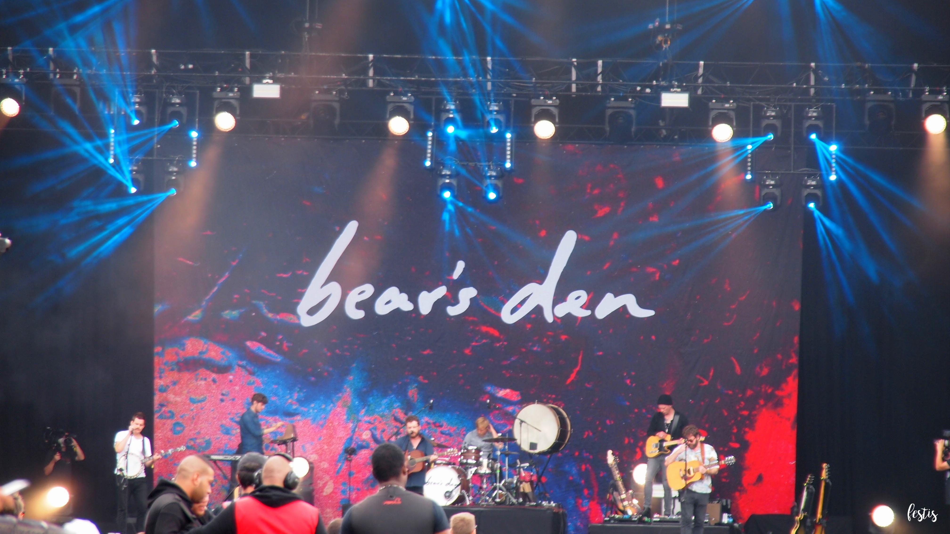 Bear's Den, Lollapalooza París 2017