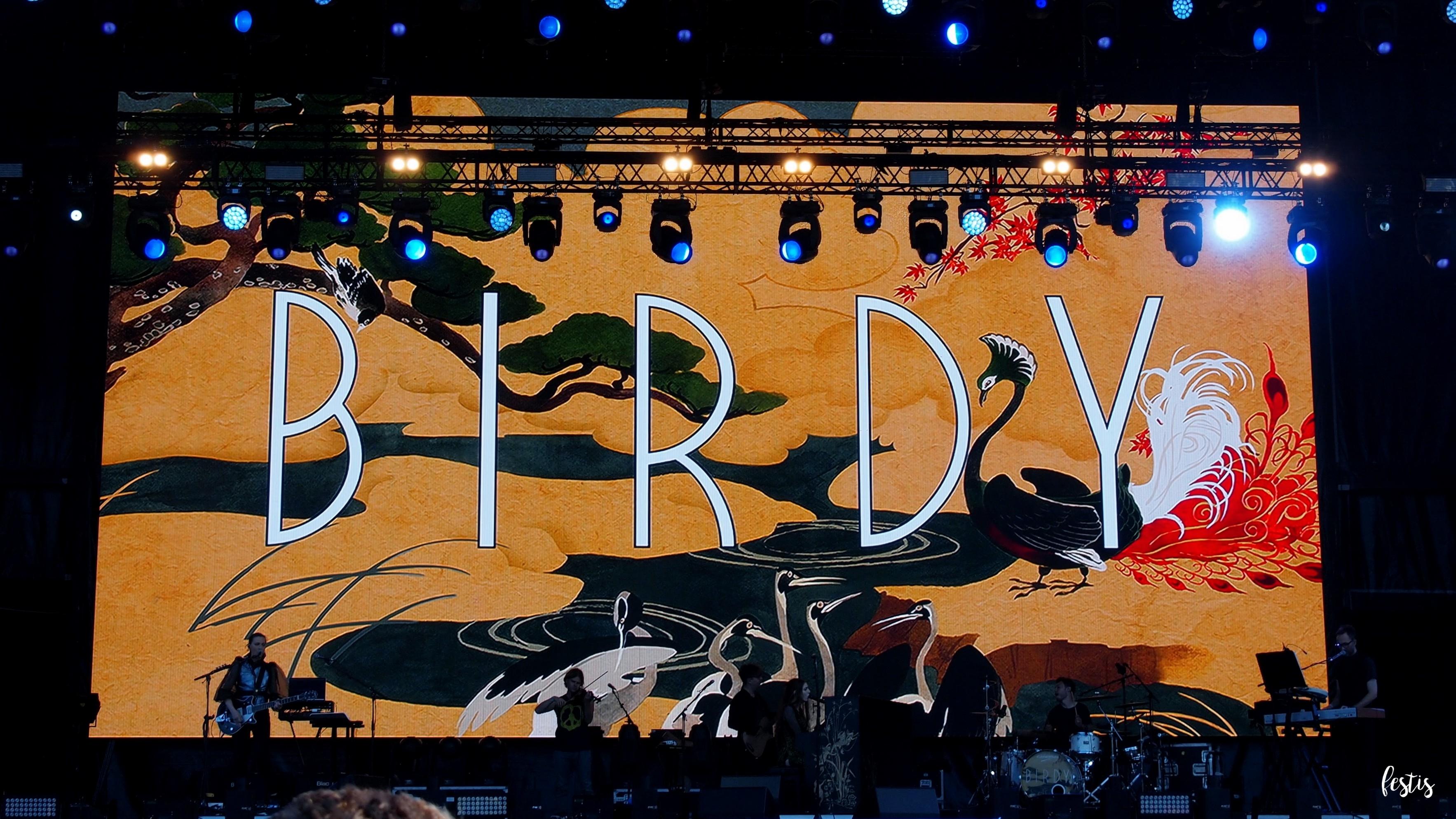 Birdy, Sziget 2017