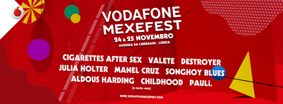 Cartel hasta el momento del Vodafone Mexefest 2017