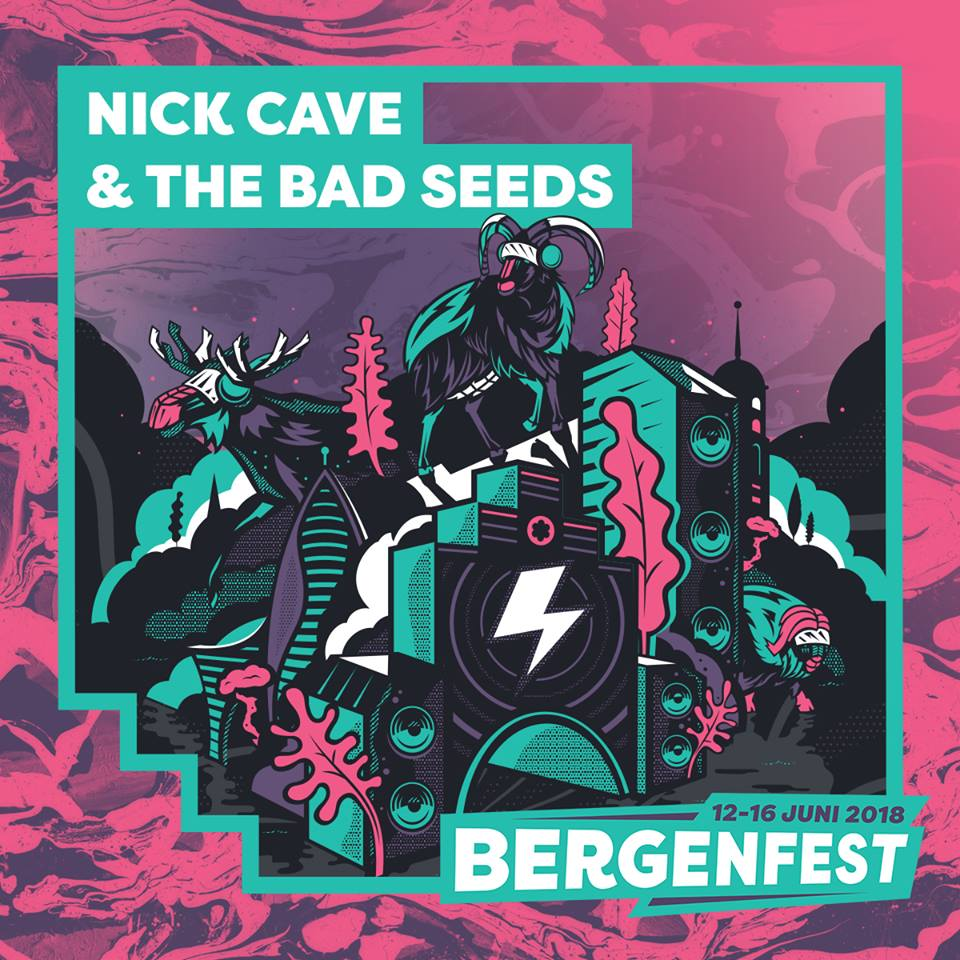 Nick Cave & The Bad Seeds, al Bergenfest 2018