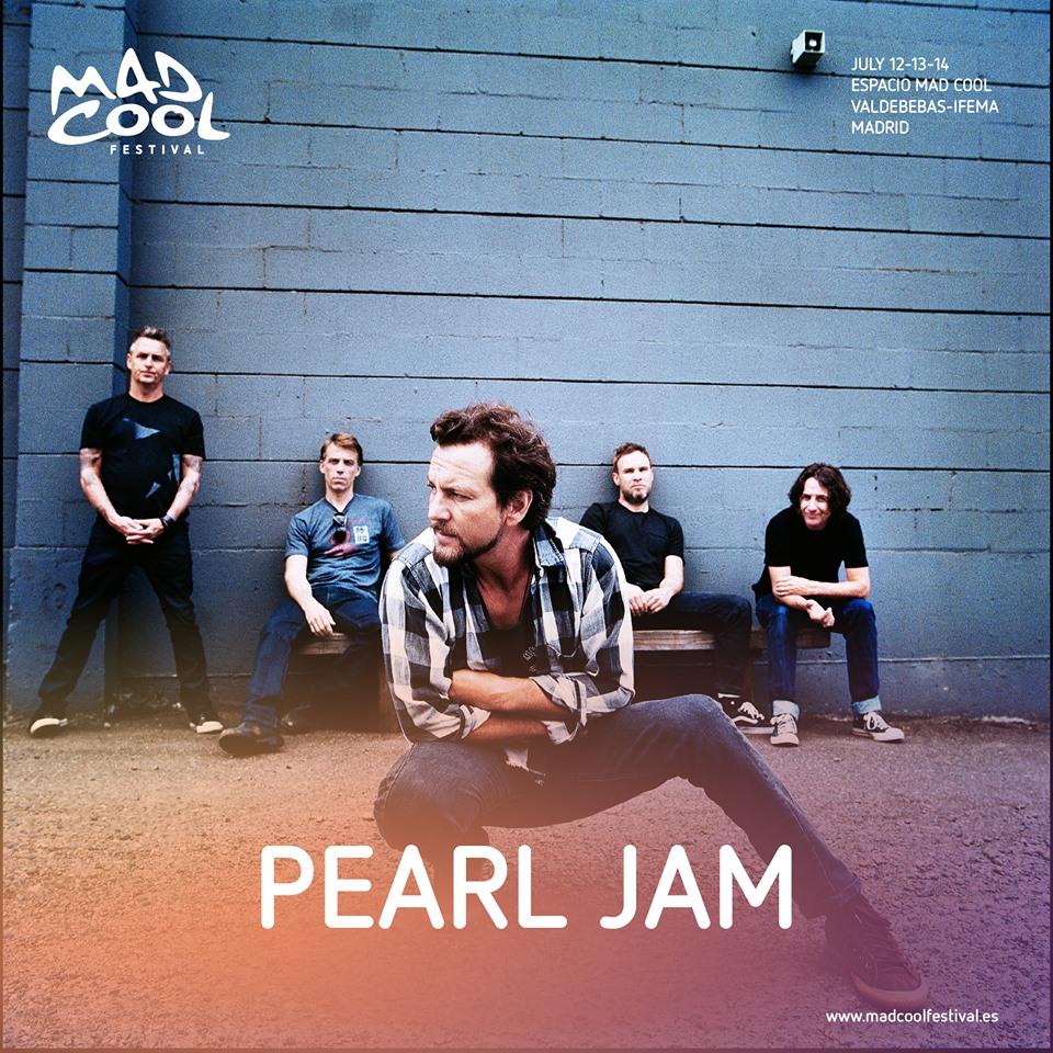 Pearl Jam, al Mad Cool 2018