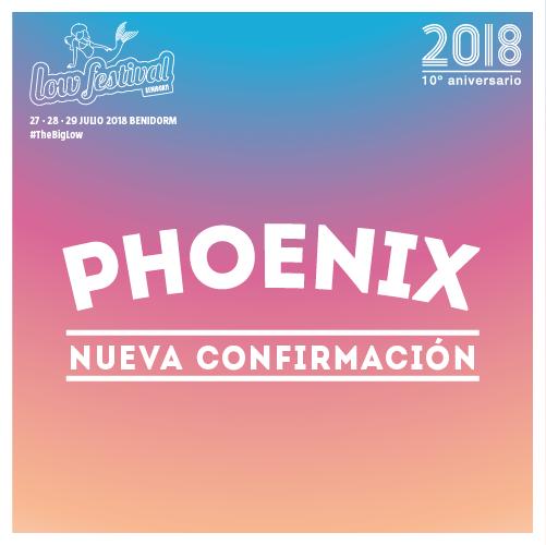 Phoenix, al Low Festival 2018