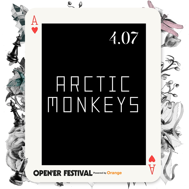 Arctic Monkeys al Open'er 2018