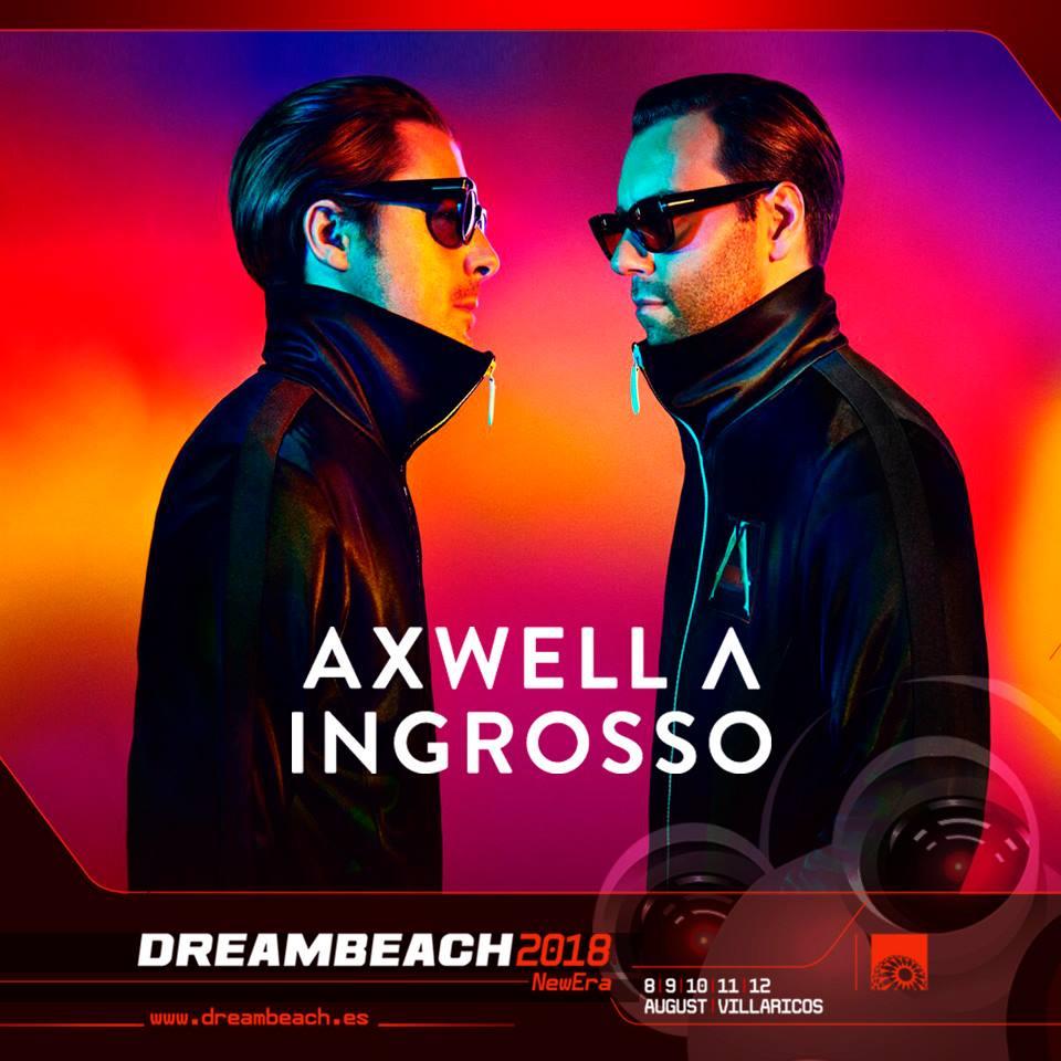 Axwell Λ Ingrosso, al Dreambeach 2018