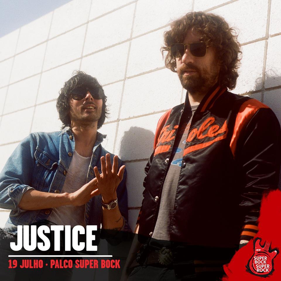 Justice, al Super Bock Super Rock 2018