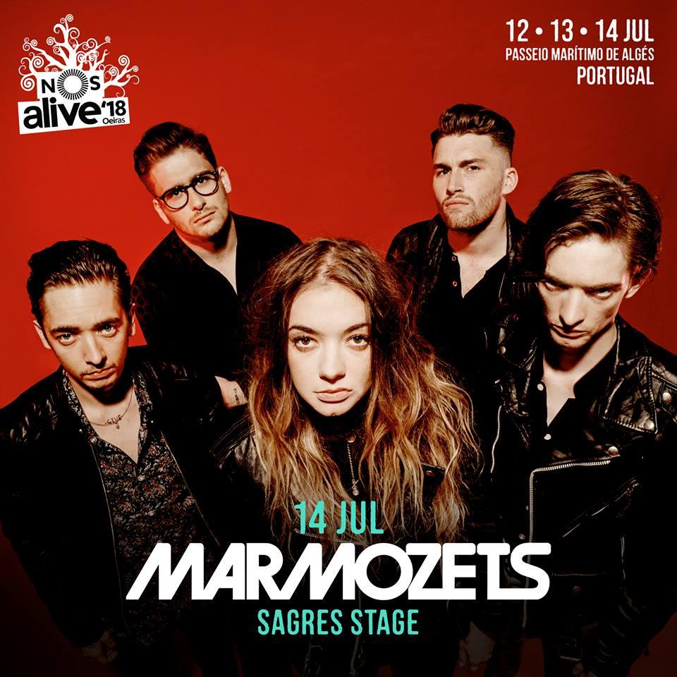 Marmozets, al NOS Alive 2018