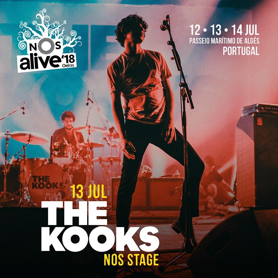 The Kooks, al NOS Alive 2018
