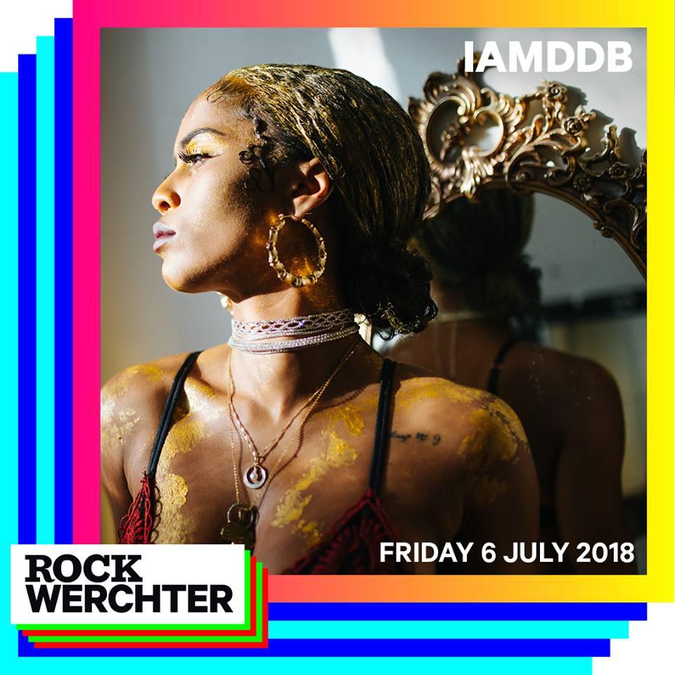 IAMDDB, al Rock Werchter 2018