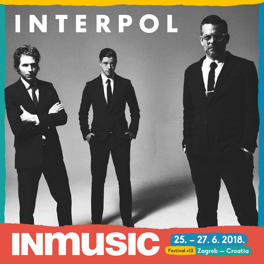 Interpol, al INmusic 2018