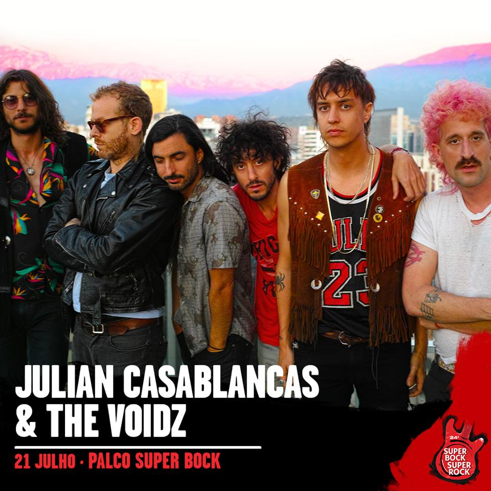 Julian Casablancas & The Voidz, al Super Bock Super Rock 2018