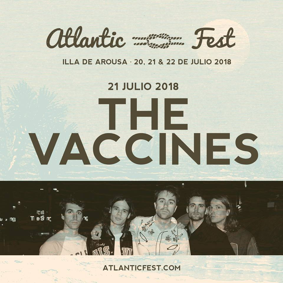 The Vaccines, al Atlantic Fest 2018