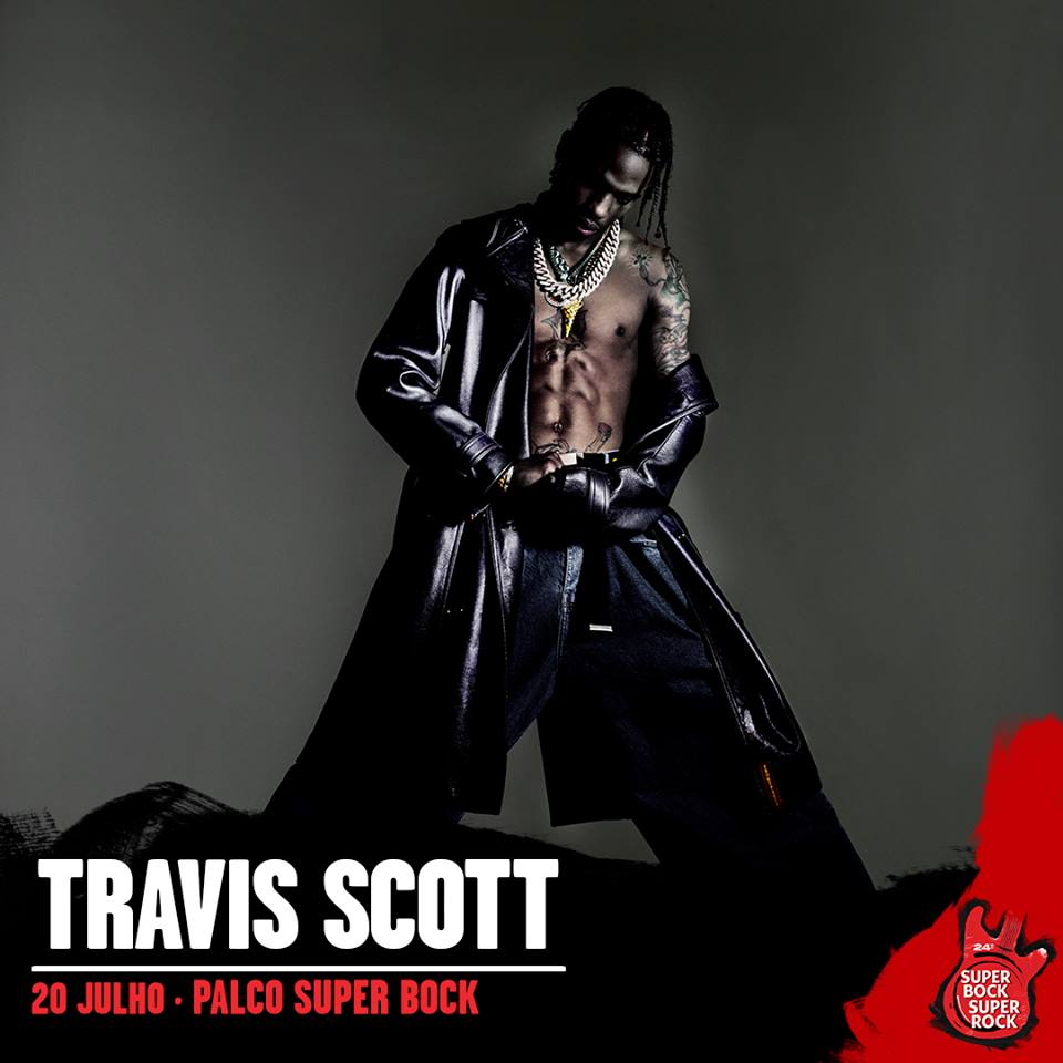 Travis Scott, al Super Bock Super Rock 2018