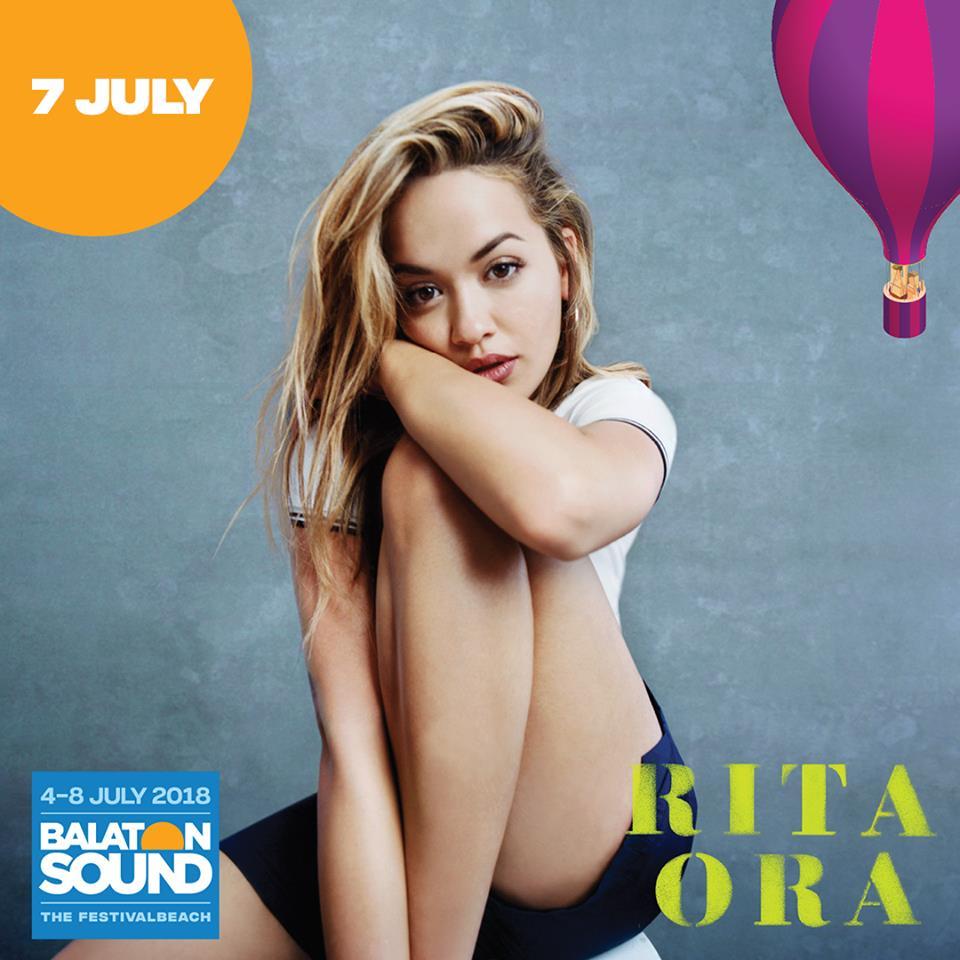 Rita Ora, al Balaton Sound 2018