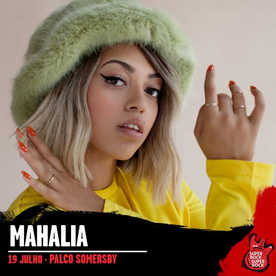 Mahalia, al Super Bock Super Rock 2018