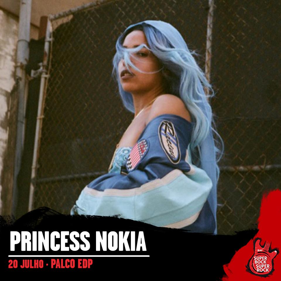 Princess Nokia, al Super Bock Super Rock 2018