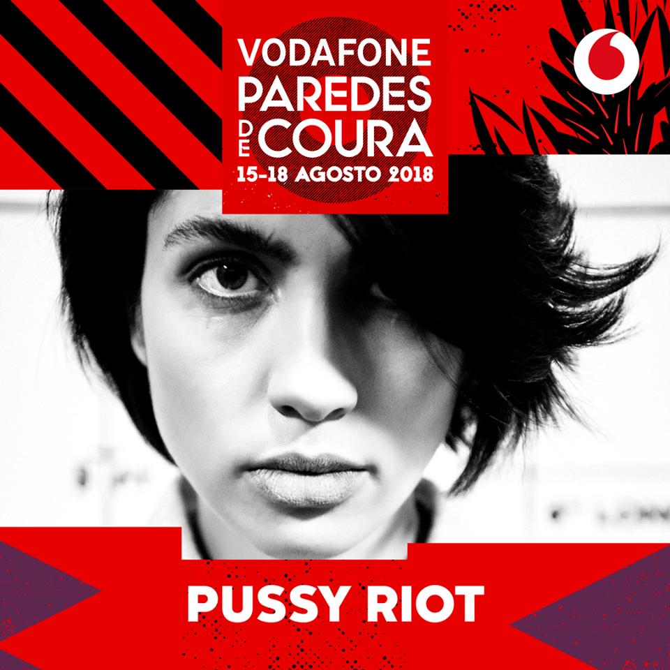 Pussy Riot, al Paredes de Coura 2018