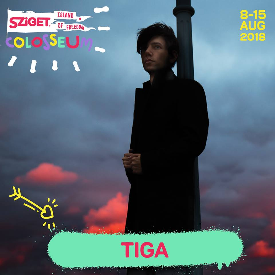 Tiga, al Sziget 2018