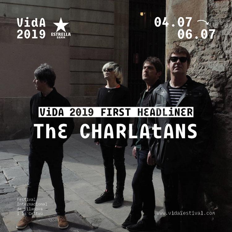 The Charlatans, primer cabeza de cartel del Vida Festival 2019