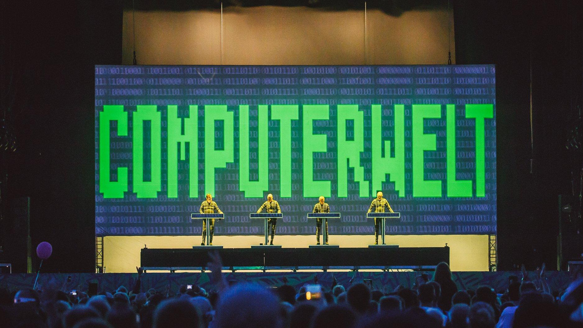 Kraftwert, Lollapalooza Berlín 2018 - Foto de Stephan Flad