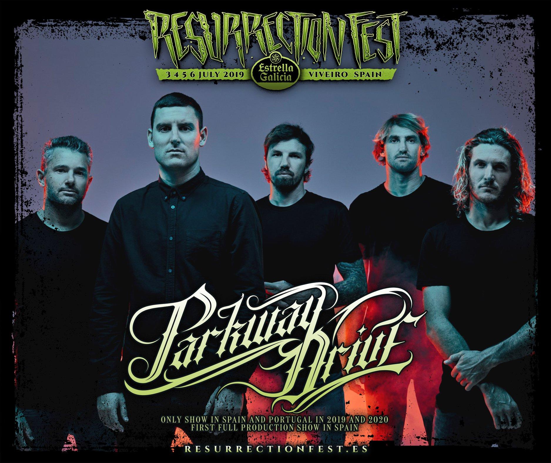 Parkway Drive, al Resurrection Fest 2019