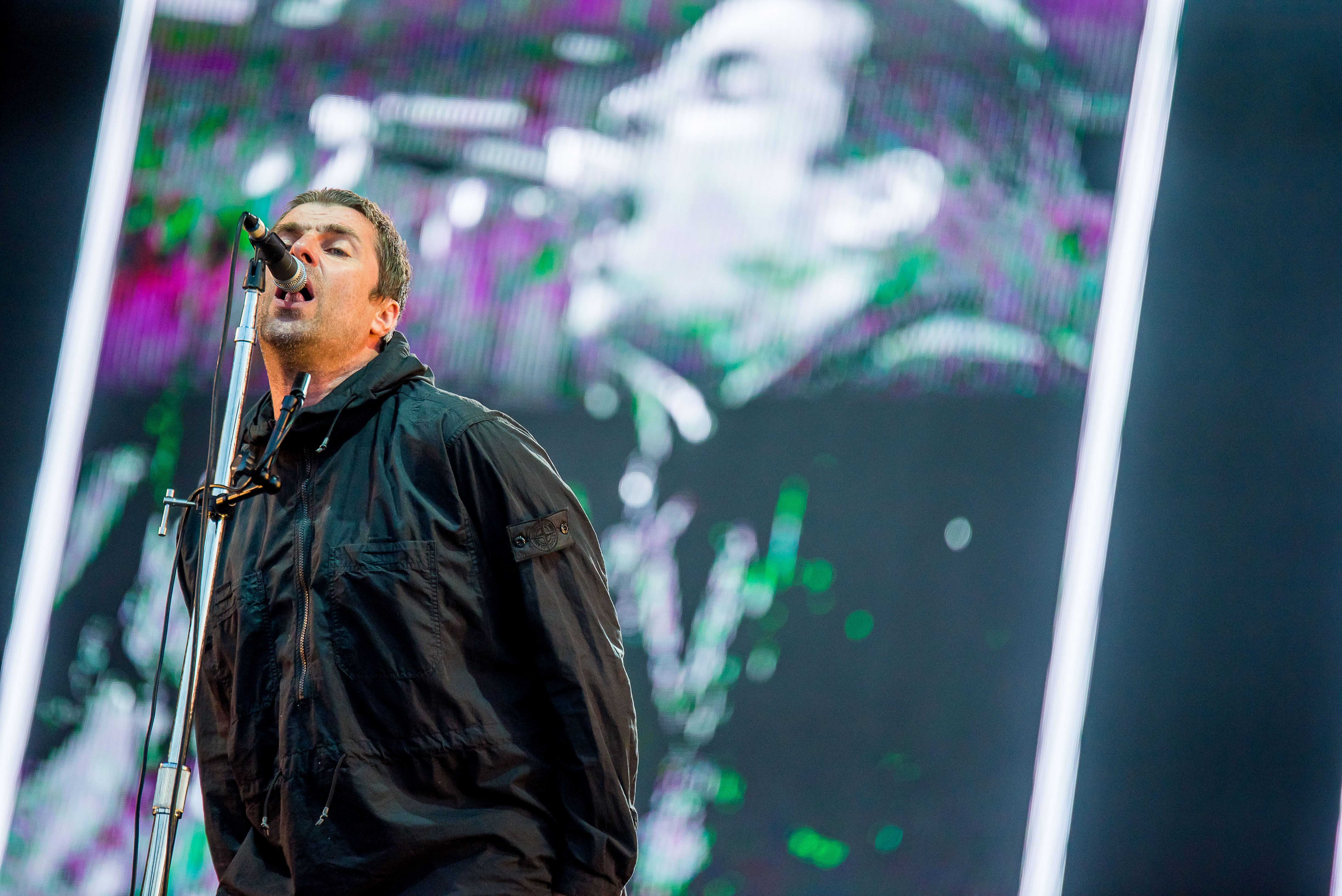Liam Gallagher, Sziget 2018 - Foto de Rockstar Photographers