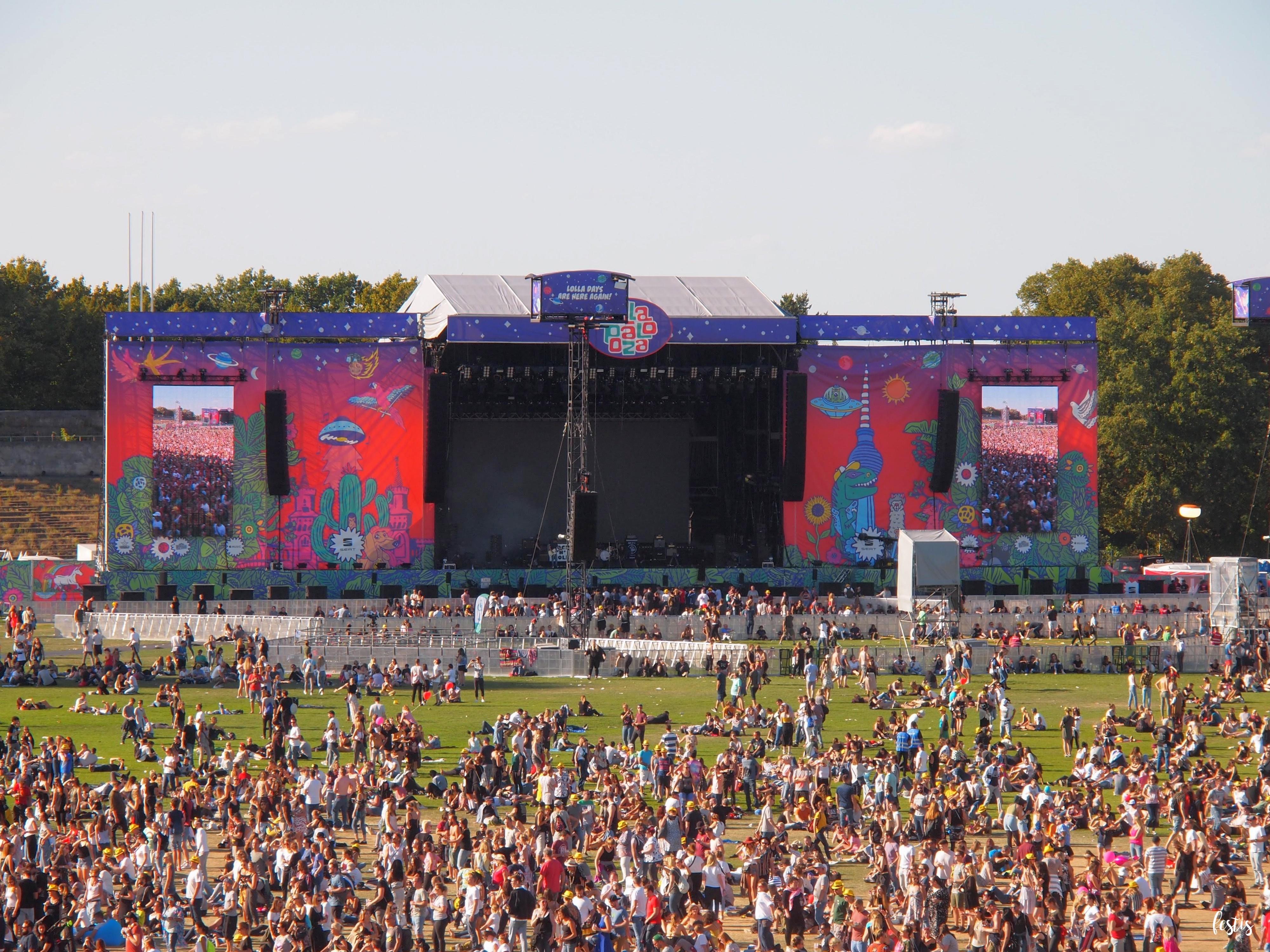 Lollapalooza Berlín 2018