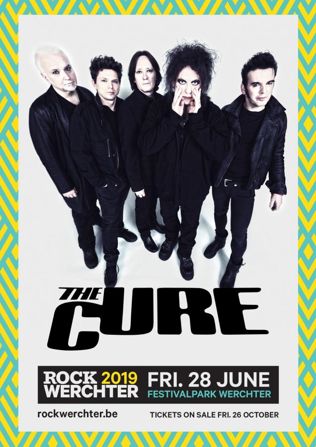 The Cure, al Rock Werchter 2019