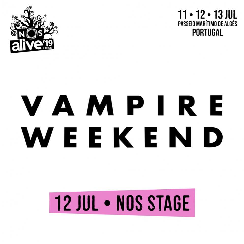 Vampire Weekend, al NOS Alive 2019