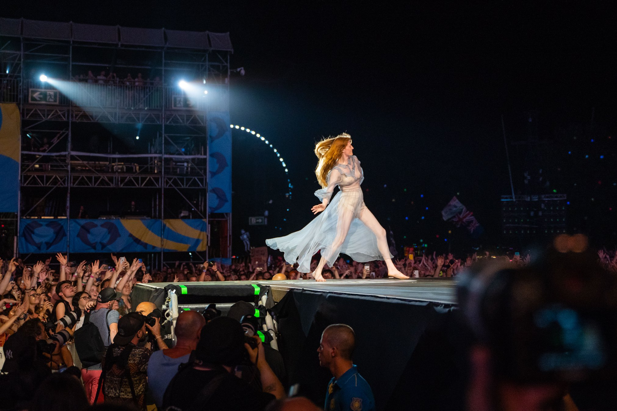 Florence + The Machine, Sziget 2019 - Foto de Rockstar Photographers