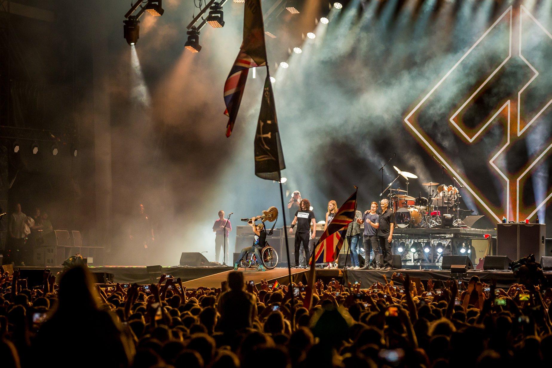 Foo Fighters, Sziget 2019 - Foto de Rockstar Photographers