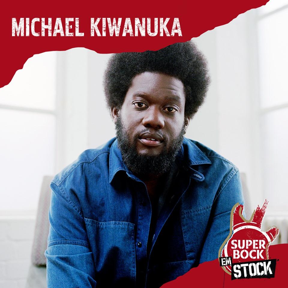 Michael Kiwanuka, al Super Bock em Stock 2019