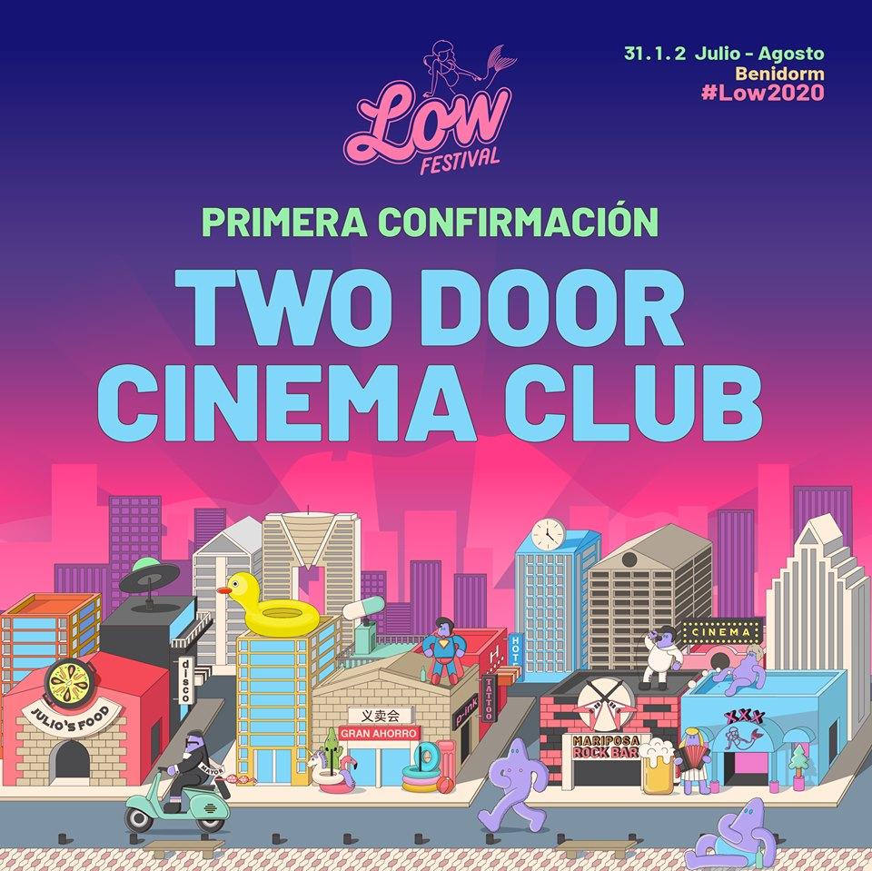 Two Door Cinema Club, al Low Festival 2020