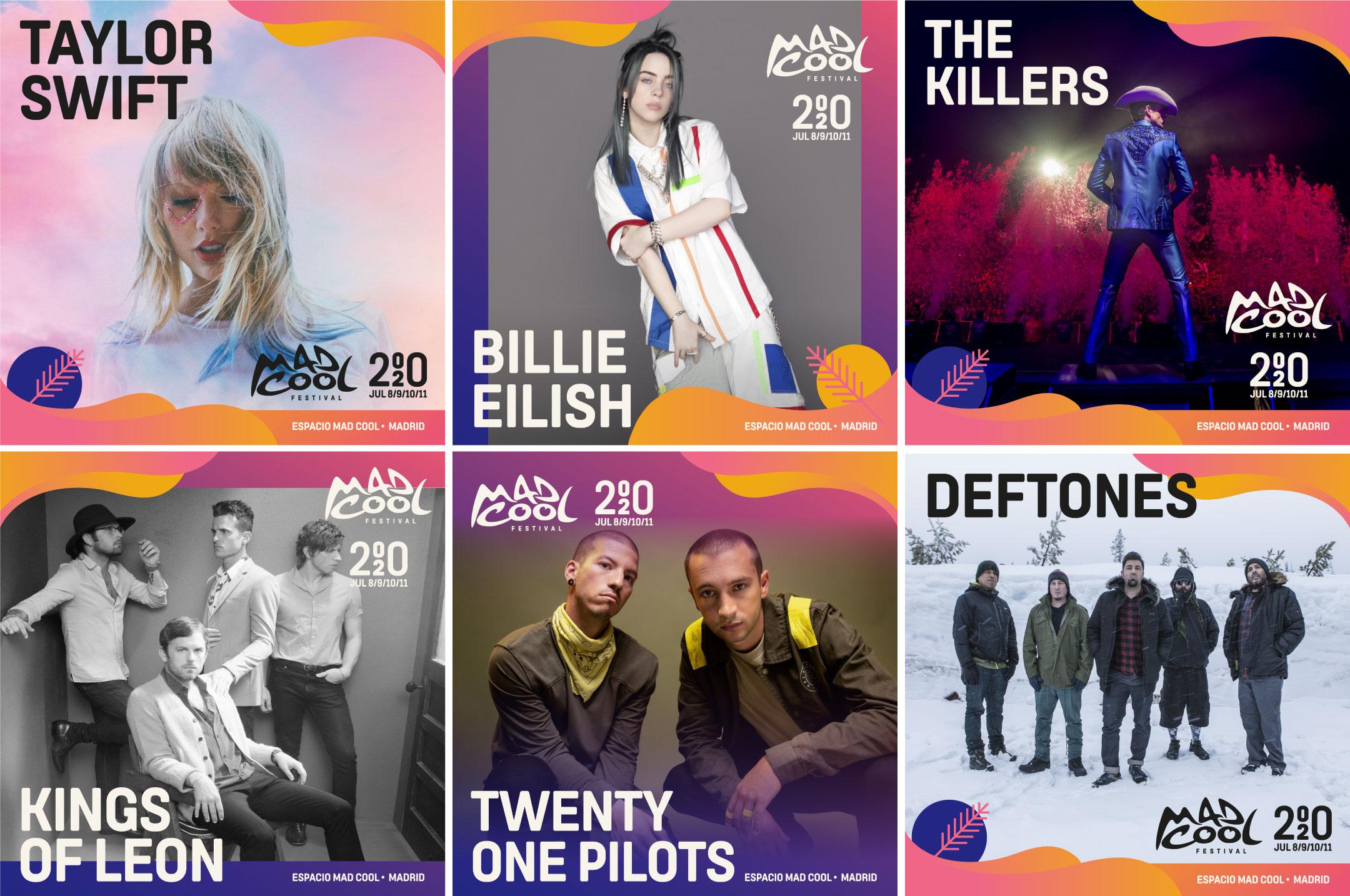 The Killers y Kings of Leon, al Mad Cool 2020
