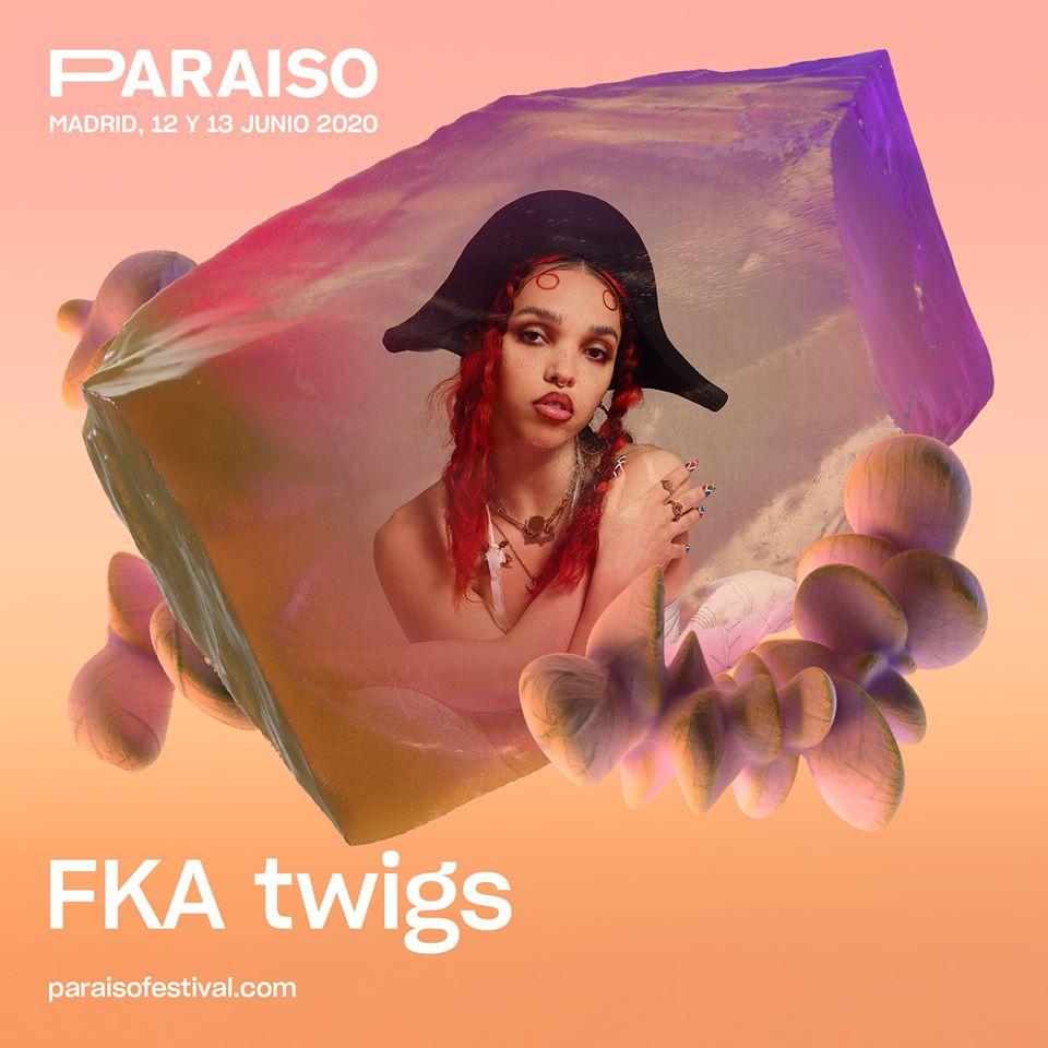 FKA twigs, al Paraíso 2020